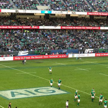 ASTELLAS | Rugby USA Digital Signage Support