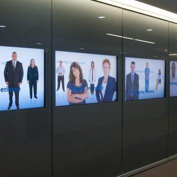 DeVry | Multimedia Installation