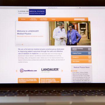Landauer | Lead Generation Website